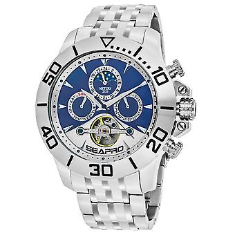 Seapro Men's Montecillo Montre cadran bleu et blanc - SP5136