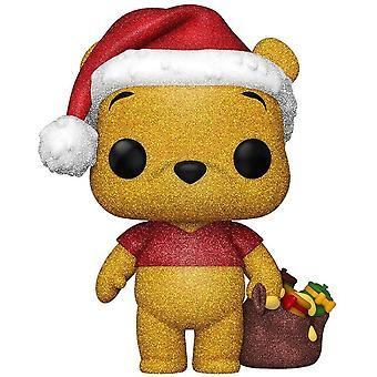 Winnie the Pooh Pooh Diamond Glitter Holiday US Pop! Vinyl