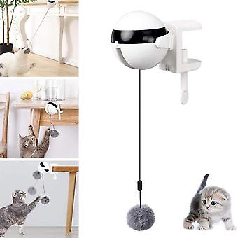 interaktiv puslespill smart kjæledyr katt ball elektrisk automatisk løfting katt ball leketøy teaser leker kjæledyr løfte baller