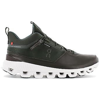 ON Running Cloud Hi Waterproof - Men's Outdoor Shoes Brown-Green 28.99675 Sneakers Sports Shoes