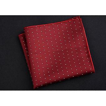 Männer Mode Taschenplatz bunte Taschentuch.
