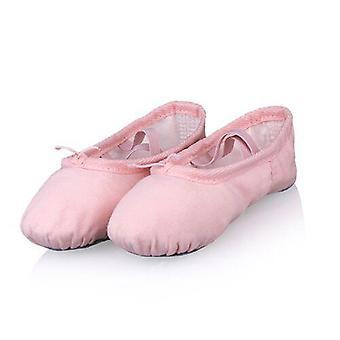 Ammatillinen lapsi puuvilla kangas pehmeä baletti tanssi harjoitus kengät