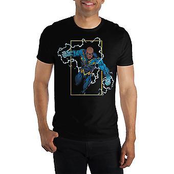 Dc comics black lightning electrify short-sleeve t-shirt