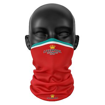 Liverpool FC Colours Football Snood Face Mask Neck Tube Head Scarf Buff Headwear