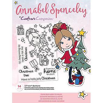 Crafter's Companion Annabel Spenceley från vårt hem till din frimärken