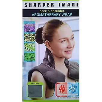 Sharper image - neck and shoulder arometheraoy wrap
