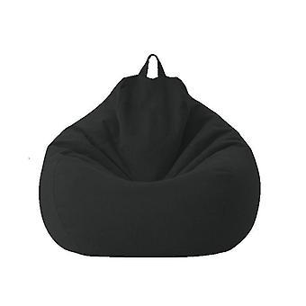 كبيرة صغيرة كسول الأرائك تغطية الكراسي دون الحشو الكتان القماش مقعد