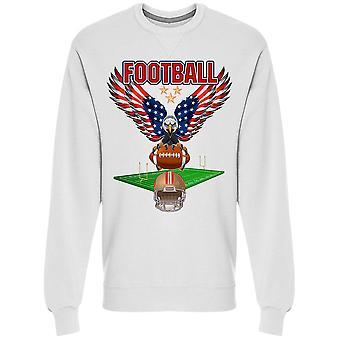 Eagle Football Field Sweatshirt Men's -Image by Shutterstock