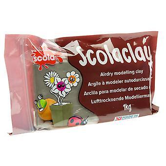 Scola 305A950 ADC1KG/42 Air Dry Clay 1Kg