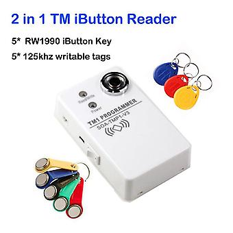 Tm Ibutton Programmeur Ds1990a Duplicator Cloner Copier 125khz Rfid Reader