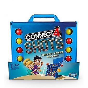 Basic Connect 4 shots Peli joukkue rakentaa hauska lelu (yhdistä 4 laukausta peli)