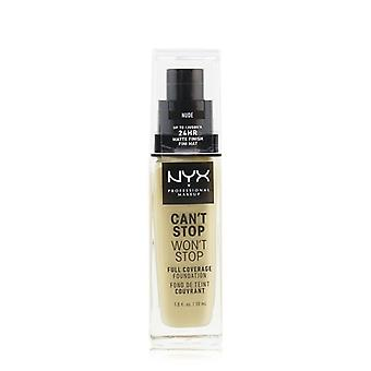 NYX Can't Stop Won't Stop Full Coverage Foundation - # Nude 30ml/1oz