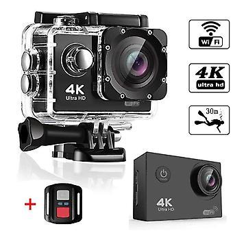 "Caméra d'action Ultra HD 4K 30fps WiFi 2.0"" Underwater Waterproof Helmet Bicycle Video Recording Smart"