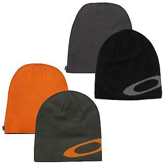 Oakley Mens Ellipse Acryl Fijne Maat Omkeerbare Slouch Fit Beanie Hat