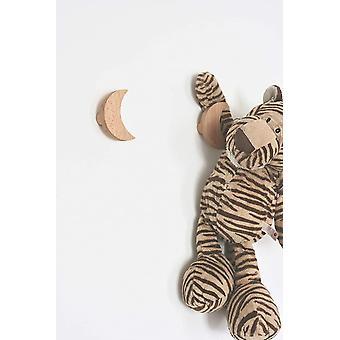 Wokex Wokex Wandhaken Kinder Garderobenhaken aus Holz Kleiderhaken Wanddeko Modern frs Baby- und