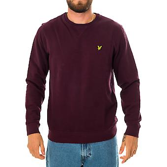 Pull homme lyle & scott crewneck sweat-shirt ml424vtr.z562