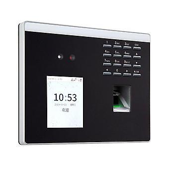 Biometrische Gesichtserkennung Zeit Anwesenheit Terminal / Fingerabdruck-Maschine mit