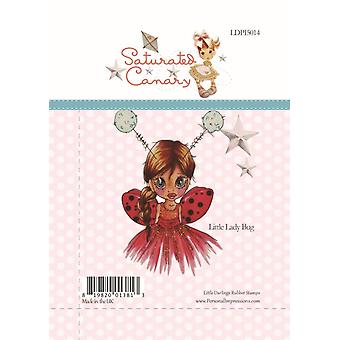 Little Darlings Little Lady Bug - Clear Stamps