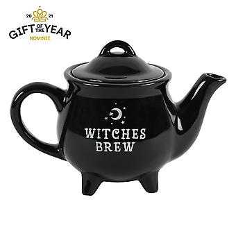 Witches Brew Ceramic Black Tea Pot