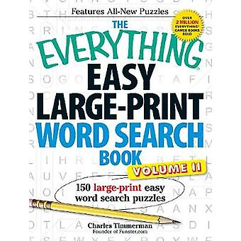 The Everything Easy LargePrint Word Search Book Volume II por Charles Timmerman
