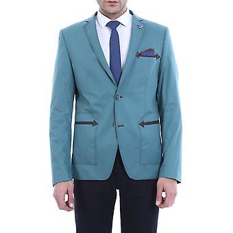 Two buttoned grey blazer   wessi