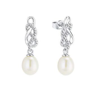 älskar Pendulum och släpp örhängen Silver kvinna - 2023881
