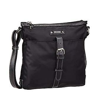 Picard Sonja, Women's Crossbody Bag, Black (Schwarz), 4x24x23 centimeters (B x H x T)