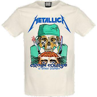 Amplified Metallica Crash Course In Brain Surgery T-Shirt