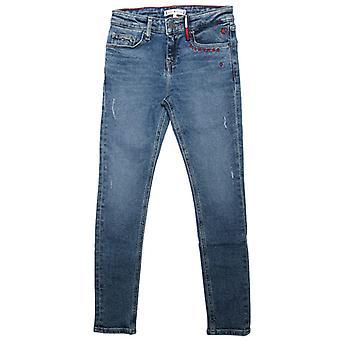Jentas Tommy Hilfiger Junior Nora Reg Skinny Jeans i blått