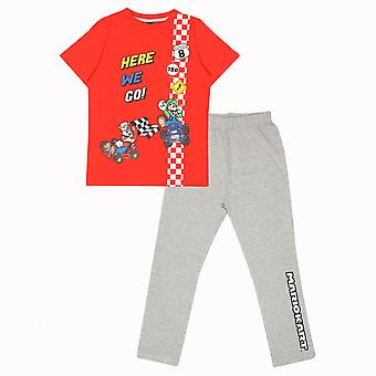 Super Mario Dziewczyny Here We Go Piżamy Zestaw