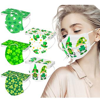 50pcs Disposable Non-woven Fabric 3 Layers Personal Face Mouth Masks