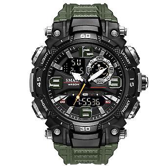 Armygreen pentru barbati moda timp liber sport în aer liber impermeabil ceas az17936