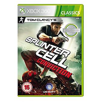 Tom Clancys Splinter Cell Conviction (Classics) Game XBOX 360