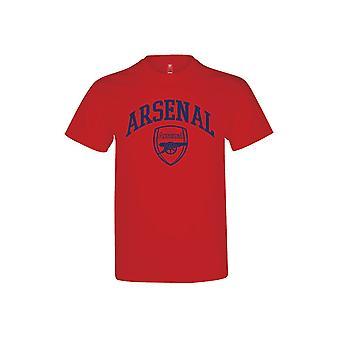 Arsenal Crest T Shirt Vuxna L