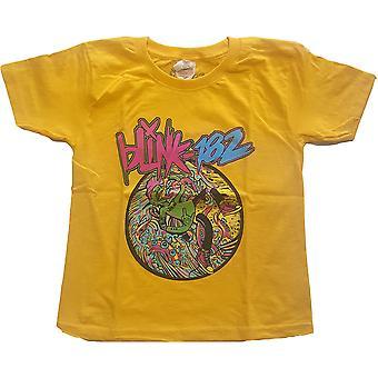 Blink-182 - Overboard Event Kids 13 - 14 Years T-paita - Keltainen