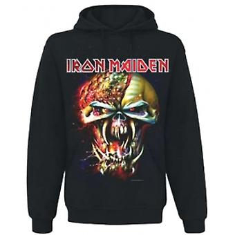 Iron Maiden Final Frontier Big Head Mens Hoodie: X Large