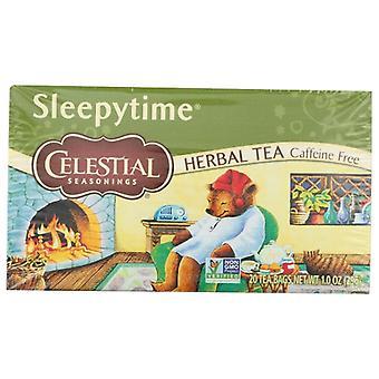 Celestial Seasonings Tea Herb Slpytime, Case of 6 X 20 Bags
