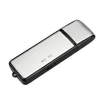 2 in 1 Mini 8GB USB 2.0 Digital Voice Recorder Rechargeable Recording