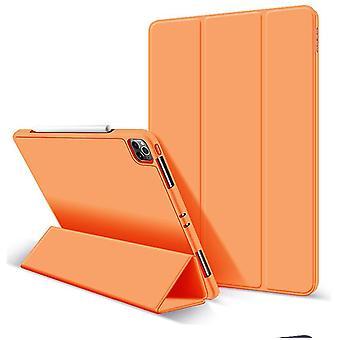 iPad Pro 11 tuuman 2020 kansi, vahva magneettinen taitoskansi (oranssi)
