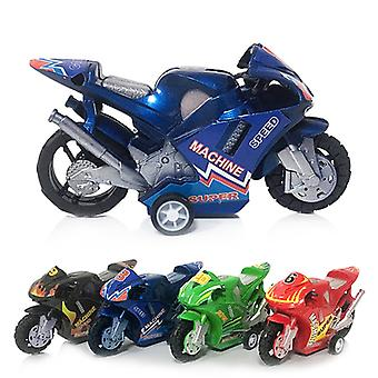 New Kids Children Plastic Pull Back Car Beach Four-wheel Motorcycle Model Baby Kids Children Toys Educational Gifts Fun Toys