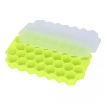 Faveolate Shape Ice-cube Maker Ice Tray Ice-cube Mold Storage Containers