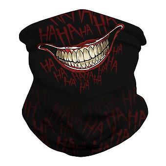 (Mouse Print) Multi use Balaclava Face Mask Cycling Neck Tube Scarf Snood Warmer Headband