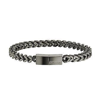Police jewels men's bracelet large pj24696bsu02a-l