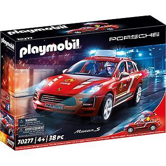 Playmobil Porsche Macan S Vigili del Fuoco 70277