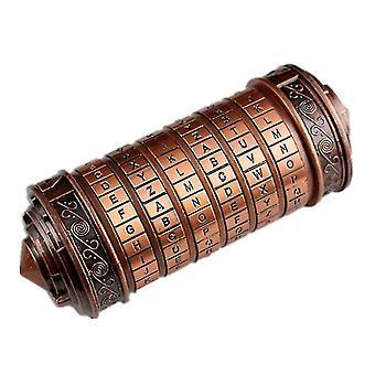 Da Vinci combination lock(Red)