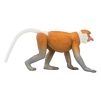 Wildlife & Woodland Proboscis Monkey Toy Figure