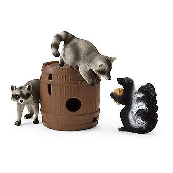 Wild Life Nutty Mischief Spielzeug Figur Set