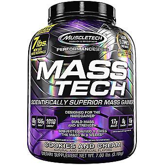 Mass-Tech, Cookies & Cream - 3180 grams