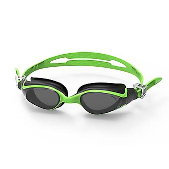 SwimTech Quantum Junior Kids Swimming Pool Water Goggles Green/Black