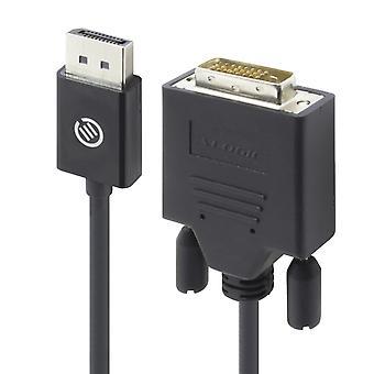 Alogic 1m display port til DVI kabel mand til mandlige elementer serie